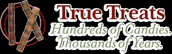Logo for True Treats Candy