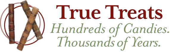 Logo for True Treats Candy
