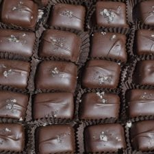 Chocolate Covered Caramel Bourbons